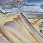 Kurische Nehrung, 1934, Öl auf Resopal, 59 x 43 cm